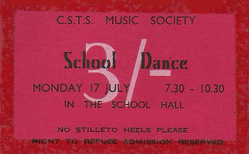 Dance Ticket 1967
